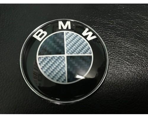 BMW 3 серия E-36 1990-2000 гг. Эмблема Карбон, Турция (d83.5мм)