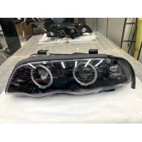 Передняя оптика (2 шт, LED) для BMW 3 серия E46 1998-2006