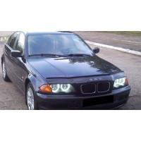 Дефлектор капота (1998-2001, VIP) для BMW 3 серия E-46 1998-2006