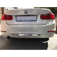 Кромка бампера (нерж) для BMW 3 серия F-30/31/34 2012-2019