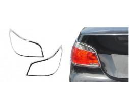BMW 5 серия E-60/61 2003-2010 гг. Накладки на стопы (2 шт., пласт)