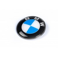 Эмблема БМВ, Турция d83.5 мм, штыри для BMW X1 E-84 2009-2015