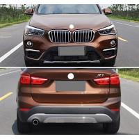 Передняя и задняя накладки (2 шт) для BMW X1 F-48 2015+