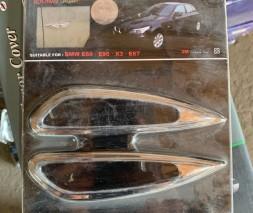 BMW X3 E-83 2003-2010 гг. Накладки на повторитель поворота (2 шт, пласт)