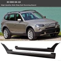 Боковые пороги (2 шт., алюминий) для BMW X3 E83 2003-2010