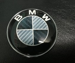 BMW X3 F-25 2011-2018 гг. Эмблема Карбон, Турция d83.5 мм, штыри