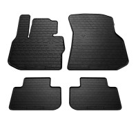 Резиновые коврики (4 шт, Stingray Premium) для BMW X4 G02 (2018+)