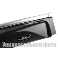 Ветровики с хромом (4 шт, HIC) для BMW X5 E-70 2007-2013