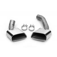 Насадки глушителя (Sport, 2 шт, нерж) для BMW X5 F-15 2013-2018