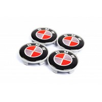 Колпачки в титановые диски V1 (4 шт) 55 мм для BMW X6 E-71 2008-2014