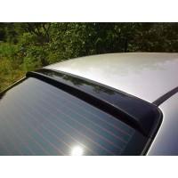 Задний козырек (DDU, ABS-пластик) Матовая для Chevrolet Aveo T200 2002-2008
