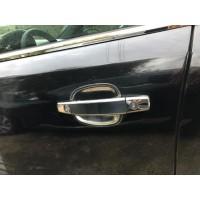 Мильнички под ручки (4 шт, нерж) для Chevrolet Aveo T250 2005-2011