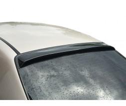 Chevrolet Aveo T250 2005-2011 гг. Задний козырек (ABS-пластик) Матовая