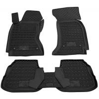 Резиновые коврики с бортом (Autogumm) для Chevrolet Niva