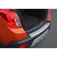 Накладка на задний бампер OmsaLine (нерж) для Chevrolet Trax 2012+