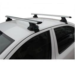 Chrysler C300 Перемычки на гладкую крышу (2 шт, TrophyBars)