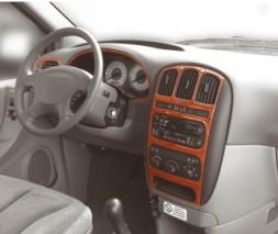 Chrysler Voyager Накладки на панель (Meric, 2001-2021)