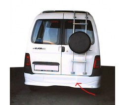 Citroen Berlingo 1996-2008 гг. Накладка на задний бампер (под покраску)
