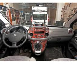 Citroen Berlingo 2008-2018 гг. Накладки на панель Алюминий