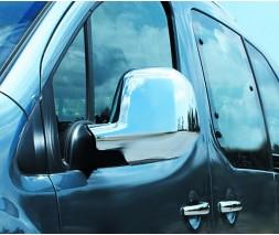 Citroen Berlingo/Multispace 2019+ гг. Накладки на зеркала (2 шт, пласт) Carmos