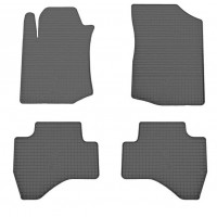 Резиновые коврики (4 шт, Stingray Premium) для Citroen C-1 2005-2014