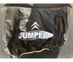 Citroen Jumper 1995-2006 гг. Чехол капота (кожазаменитель) На полный капот, 1995-2001