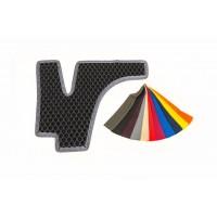 Полиуретановые коврики на пороги (2 шт, EVA, черные) для Citroen Jumper 2007+ и 2014+