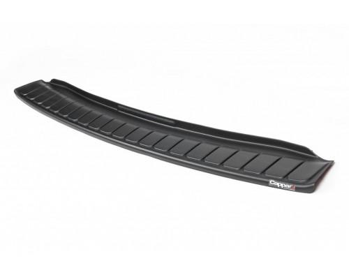 Накладка на задний бампер EuroCap (ABS) для Dacia Dokker 2013+