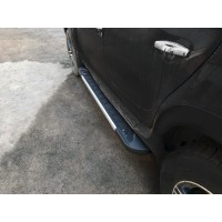 Боковые пороги RedLine V1 (2 шт., алюминий) для Dacia Duster 2008-2018