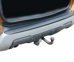 Dacia Duster 2018+ гг. Накладка на задний бампер EuroCap (ABS)