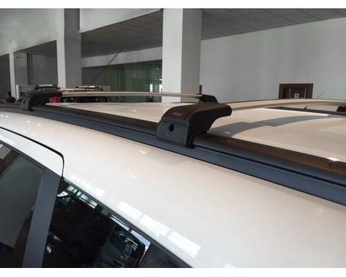 Dacia Lodgy 2013+ Поперечины под ключ (2 шт) Черный