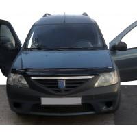 Dacia Logan I 2005-2008 Дефлектор капота (EuroCap)