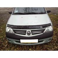 Dacia Logan II 2008-2013 Дефлектор капота VIP