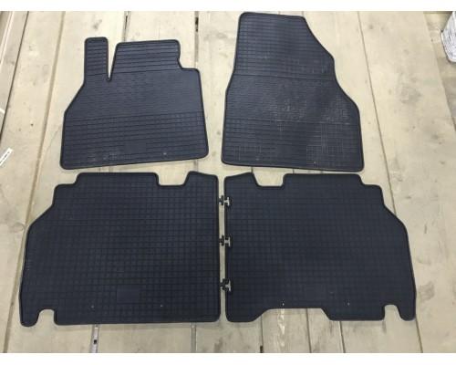 Резиновые коврики (4 шт, Polytep) для Dacia Logan III 2013+