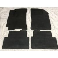 Резиновые коврики (4 шт, Polytep) для Daewoo Lanos