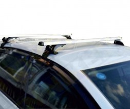 Daewoo Lanos Автобагажник легкое Б.У (хром, пара)