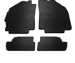 Daewoo Matiz 2009-2015 гг. Резиновые коврики (4 шт, Stingray Premium)