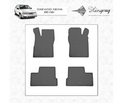 Daewoo Nexia Резиновые коврики (4 шт, Stingray) Premium - без запаха