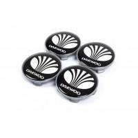 Колпачки в титановые диски 65мм (4 шт) для Daewoo Nubira 1997-1999