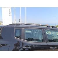 Рейлинги Skyport (черный мат) для Fiat 500X