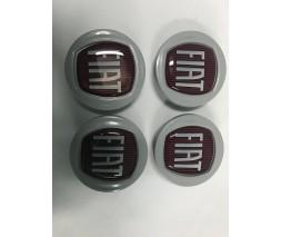 Fiat 500X Колпачки в оригинальные диски 49/42,5 мм (4 шт)