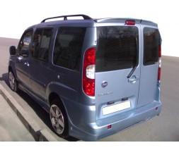 Fiat Doblo I 2001-2005 гг. Спойлер Anatomic на распашные (под покраску)