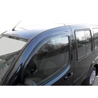 Ветровики (2 шт, Sunflex) для Fiat Doblo I 2001-2005