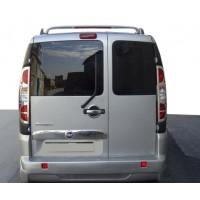 Спойлер Brabos-style (под покраску) для Fiat Doblo II 2005+