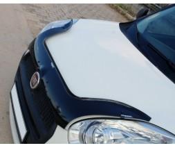 Fiat Doblo III nuovo 2010↗ и 2015↗ гг. Дефлектор капота EuroCap (2010-2015)
