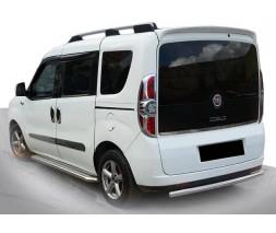 Fiat Doblo III nuovo 2010+ и 2015+ гг. Задняя дуга AK002 (нерж.)