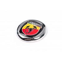 Значок (Abarth, самоклейка) 95 мм для Fiat Doblo III nuovo 2010+ и 2015+