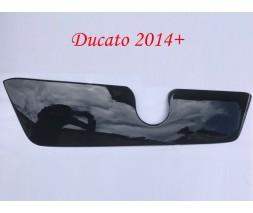 Fiat Ducato 2006+ и 2014+ гг. Зимняя решетка (2014+) Матовая