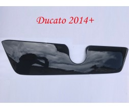 Fiat Ducato 2006+ и 2014+ гг. Зимняя решетка (2014+) Глянцевая