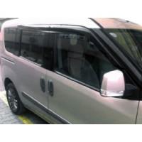 Ветровики (4 шт, Mugen Sport) для Fiat Fiorino / Qubo 2008+